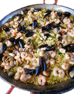 Cater Authentic Spanish Seafood Paella