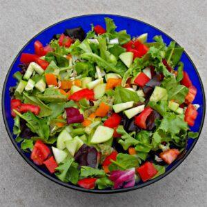 Mediterranean Mixed Salad